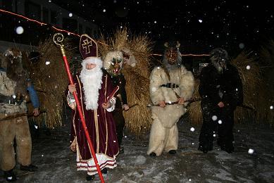 Der Nikolaus besucht den Berghof
